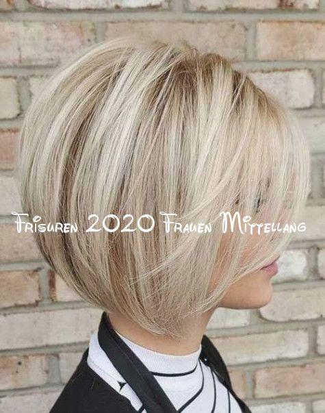 Verstehen Sie Den Hintergrund Von Frisuren 2020 Frauen Mittellang Now In 2020 Bob Frisur Haarschnitt Bob Bob Frisuren Blond