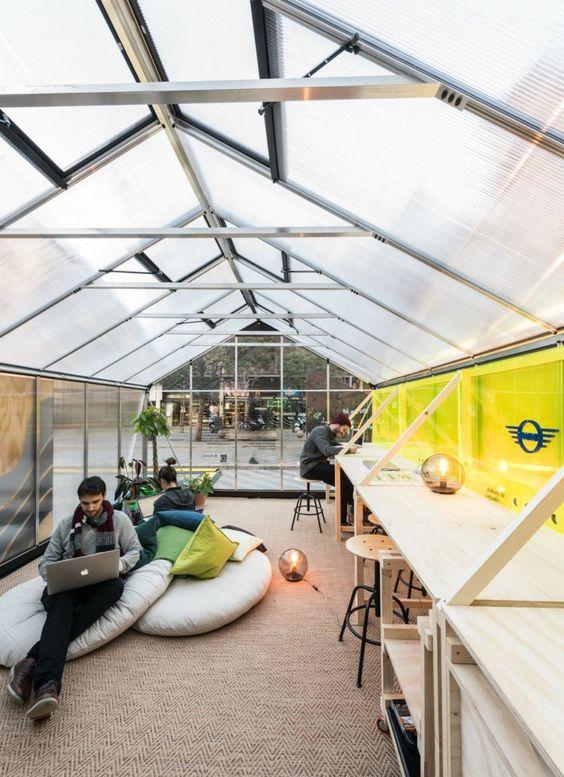 Experimental Furniture Eyeing Urban Regeneration Pops Up In Madrid Unique Architecture Architect Design Urban