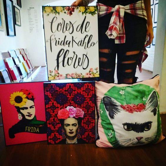meus quadros da Frida