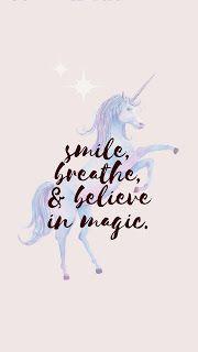 خلفيات ايفون يونيكورن Unicorn Wallpaper Unicorn Wallpaper Believe In Magic Wallpaper