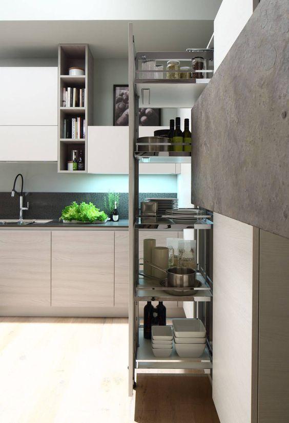 t pfe und pfannen bersichtlich aufbewahren. Black Bedroom Furniture Sets. Home Design Ideas