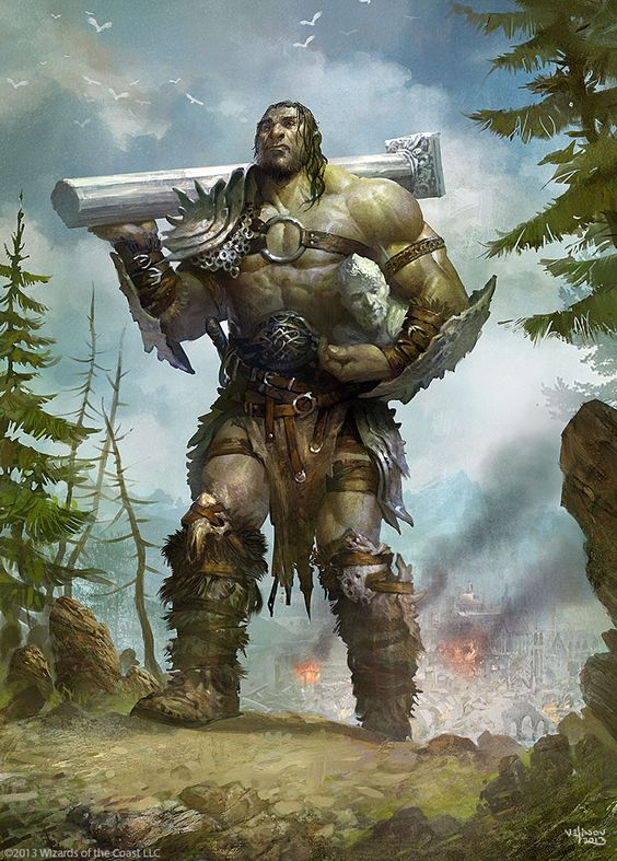 Giant-Warrior by ~velinov on deviantART   Pathfinder RPG ...