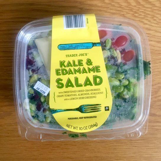 We Ranked 10 Trader Joe S Pre Made Salads Edamame Salad Trader