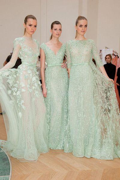 mint.: Mint Wedding, Weddingdress, Mint Green, Elie Saab, Bridesmaid Dresses, Bridesmaids Dresses, Wedding Dress, Green Wedding, Mint Dress