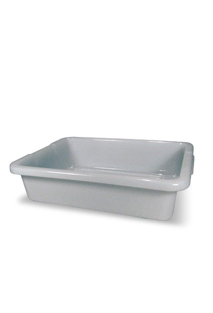 Bus/Utility Box: Dishwashing polyethylene used by the food service and restaurants to pick up utensils after use