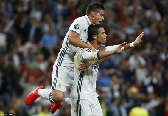 Ronaldo reins in his celebrations against the club where he first came to the attention of the footballing world