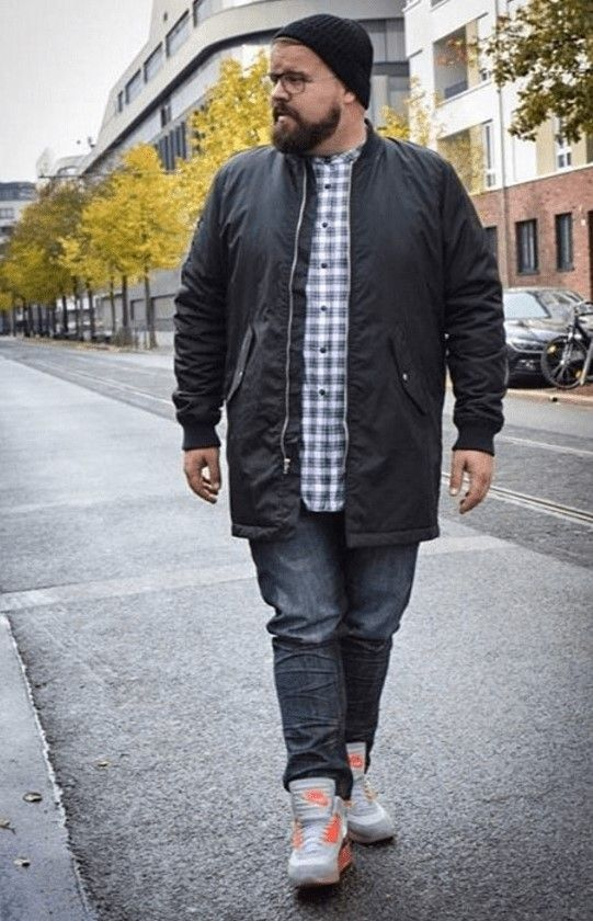 Best Casual Plus Size For Men With Sneakersr 21 Big Men Fashion Plus Size Men Outfits For Big Men