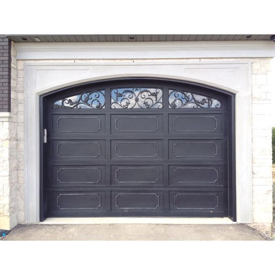 Elegant Wrought Iron Garage Door Monarch Custom Doors Garage Doors Garage Door Styles Garage Door Design