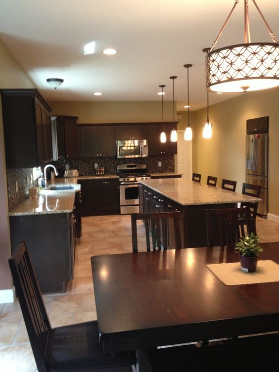 Lowes, Granite Counters And Lighting On Pinterest