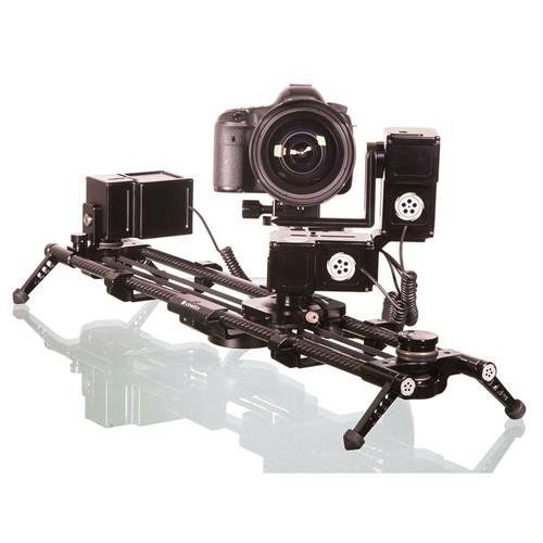 Cinetics Lynx 3 Axis Motorized Slider With Pan Tilt Motors Slider Motor And Controller Camera Photography Time Lapse Photography Suitcase Bag