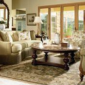 Hills of Tuscany  #lounge #relax #interiordecorating #decor #thomasville #elegance #classy #familyroom #livingroom #ideas #wood