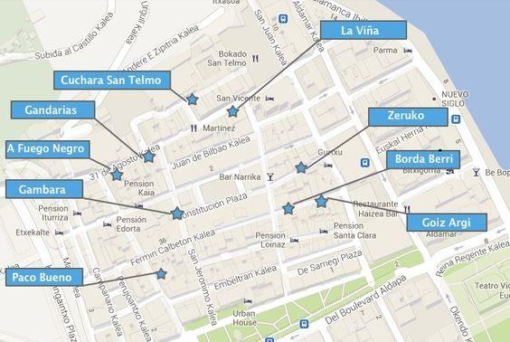Best pintxos bars in San Sebastian Old Town - Pintxos tour