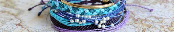 Pura Vida Bracelets All bracelets purchased help provide full time jobs for local artisans in Costa Rica