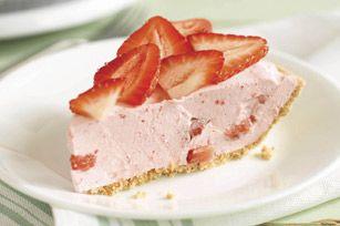 COOL 'N EASY Strawberry Pie recipe