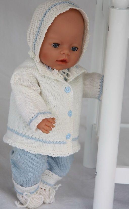 Knitting Baby Doll : Http doll knitting patterns d baby born
