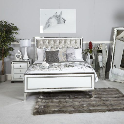 King Size Bed Frame King Size Bed Frame Stretch Out On One Of Our Spacious King Size Beds Styles King Size Bed Frame Bed Frame Mirrored Bedroom Furniture