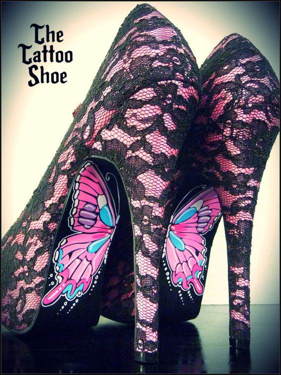 tattoo shoe