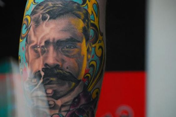 Ink tattoos ink and tattoos and body art on pinterest for Emiliano zapata tattoo