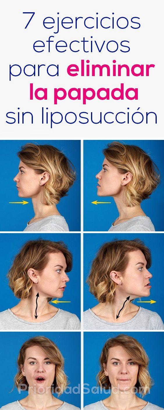 Ejercicios para adelgazar la cara y cuello