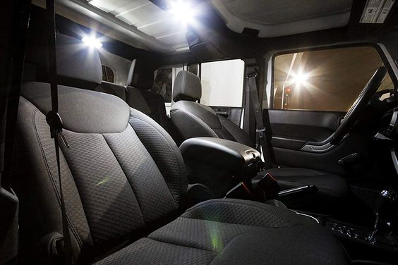 Amazon Com Precisionled Jeep Wrangler Accessories Jk Led Interior Lighting Kit Li Wrangler Accessories Jeep Wrangler Accessories Interior Lighting