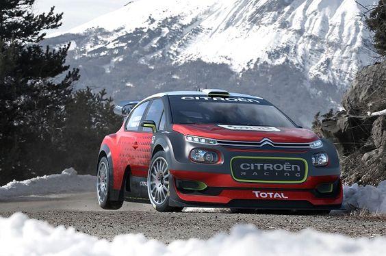 Mundial de Ralis 2017: Citroen Racing estreia o novo Concept C3 WRC em Monte Carlo