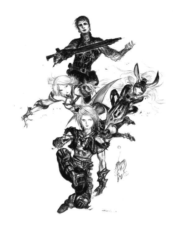 Final Fantasy XII By Yoshitaka Amano