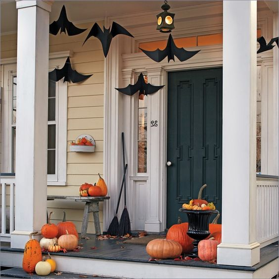 Exciting Ideas For Homemade Outdoor Halloween Decorations ...