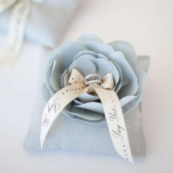 Wedding Ring Pillow - Weddbook | Weddbook.com