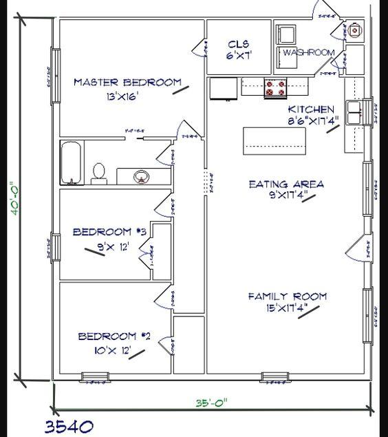 Barndominium Floor Plans Benefit Cost Price And Design Barndominium Floor Plans House Plan With Loft Metal House Plans