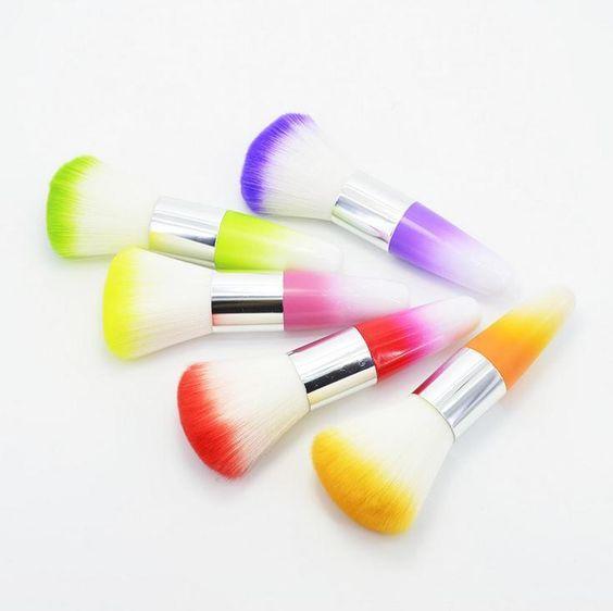 Gradient Color Foundation Face Nose Powder Blusher Cosmetic Brush Make Up Brush Makeup Tool Best Makeup Kabuki Brush From Happytraveltime, $4.53  Dhgate.Com