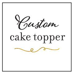 $10 - Submit Your Own Design  Custom Cake Topper, My Design, or Custom Design Idea, Rustic Wood, Gold, Silver, Or Custom Color, Laser Cut or Engraved