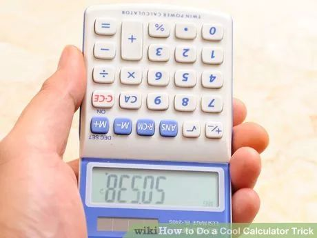 Image titled Do a Cool Calculator Trick Step 5