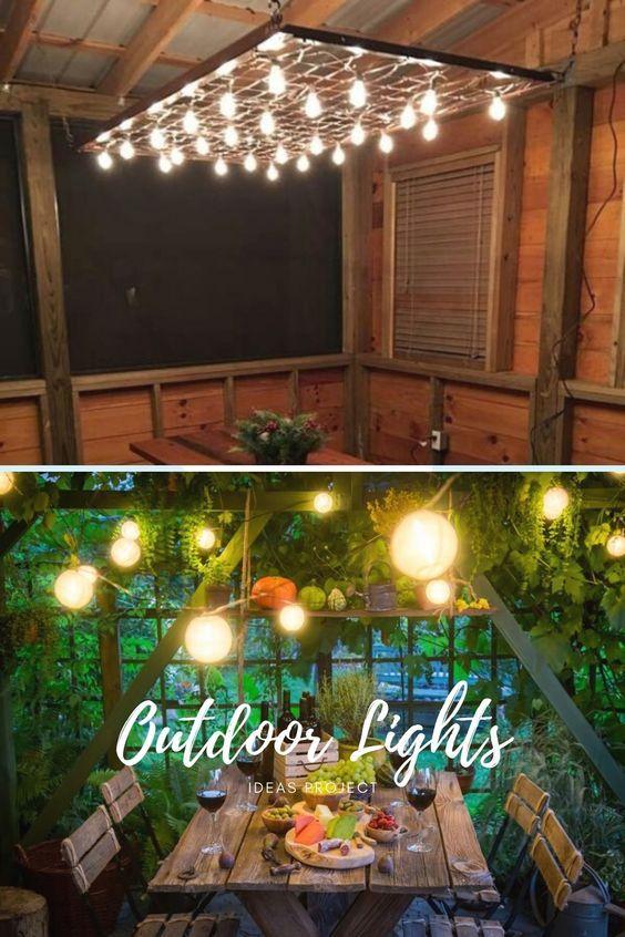 Best Diy Outdoor Lighting Ideas In 2020 Diy Outdoor Lighting House Lighting Outdoor Diy Outdoor