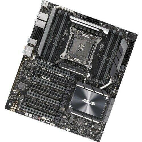 Ebay Sponsored Asus Ws X299 Sage 10g Workstation Motherboard Intel Chipset Socket R4 Lga 20 With Images Motherboard Asus Ddr4