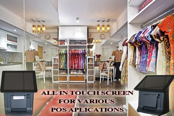 Touch Screen all in one solutions for supporting your many POS applications  include thermal receipt & pole display info & order, call 082141787878