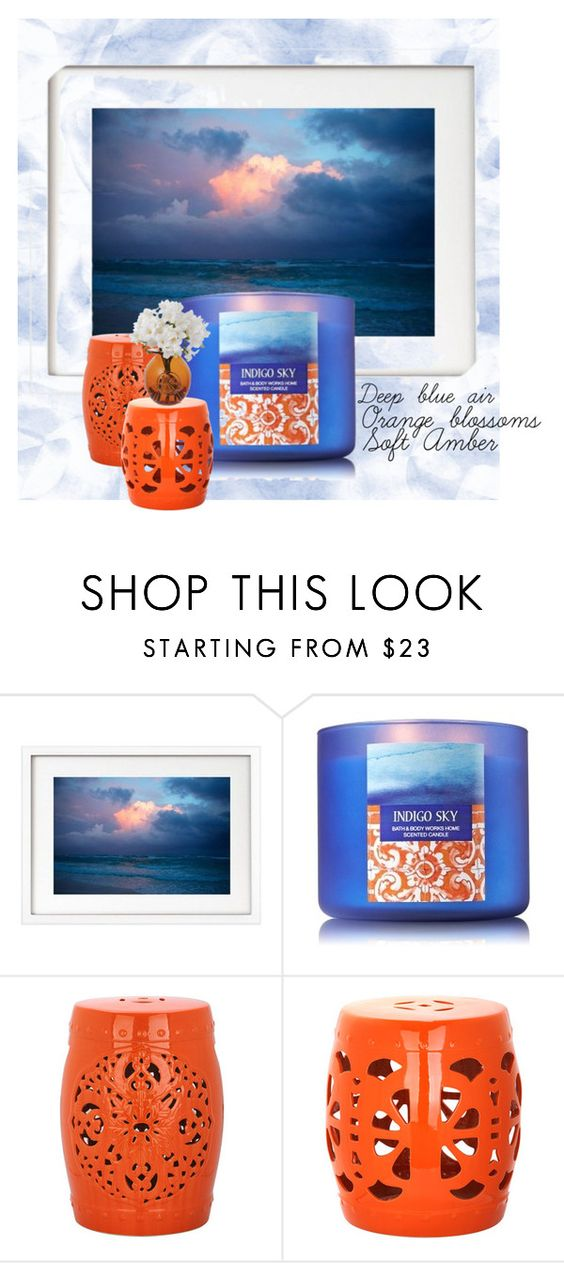 """Indigo Sky"" by lindsayyt8 on Polyvore featuring interior, interiors, interior design, home, home decor, interior decorating, Safavieh and Dartington Crystal"