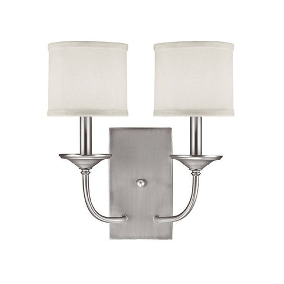 Capital Lighting Loft Collection 2-light Matte Nickel Wall Sconce