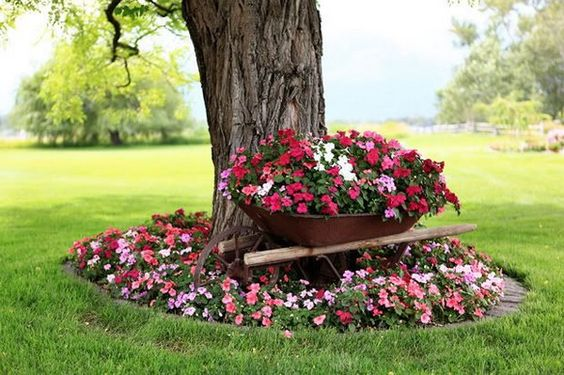 10 Ideas Originales Para Jardines Decoracion Estiloydeco Decoracion Pinterest Plantas
