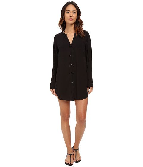 Cocktail Shirt Tail Tunic Cover-Up by LAUREN Ralph Lauren at Zappos.com - FREE Shipping. Read LAUREN Ralph Lauren Cocktail Shirt Tail Tunic Cover-Up product ...