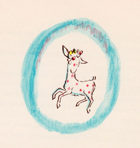 my vintage book collection (in blog form).: In the shop..... The Polka-Dot Goat - illustrated by Louis Slobodkin