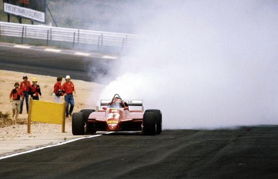 f1pictures:  Gilles Villeneuve Ferrari Kyalami 1982