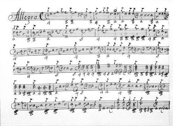 Baroque Notation for Lute - New music for lute #composer #contemporarymusic #modernmusic www.dosiamckay.com
