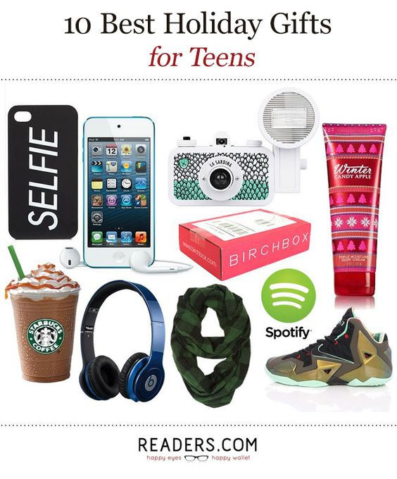 2016 Christmas Gift Guide: What to Give Teen Kids | Teen, Holidays ...