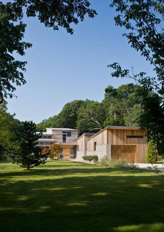 Modern green home ny