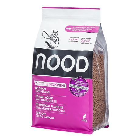 Nood Sustainable Salmon Pea Cat Food Medium Free Cat Food