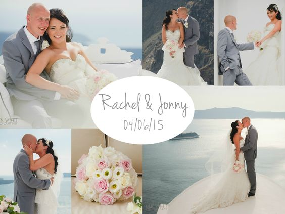Real #Santorini wedding by The Bridal Consultant