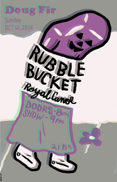 #Rubblebucket #royalcanoe #dougfir