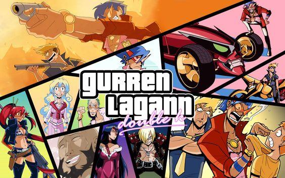 Anime Tengen Toppa Gurren Lagann  Wallpaper