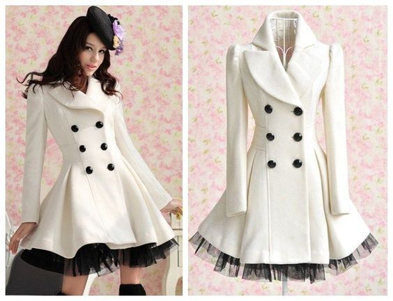 White Trench Coat Dress - Sm Coats