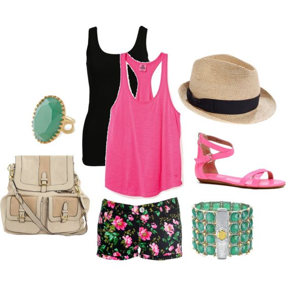 Fun Florals, created by maceybeal on Polyvore